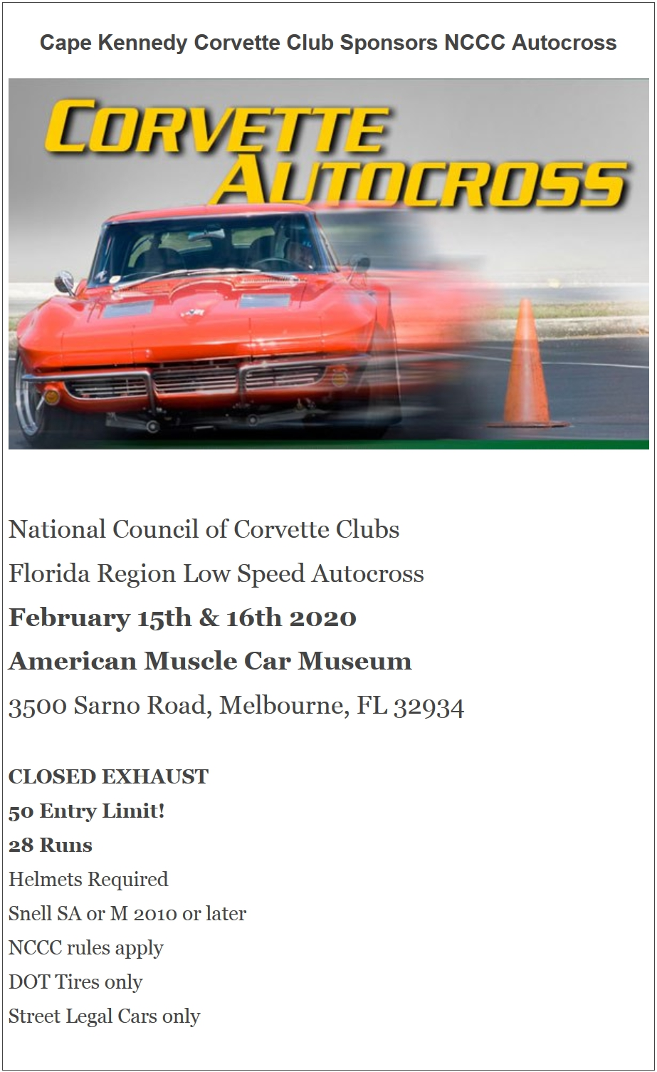 Autocross Feb 15 16