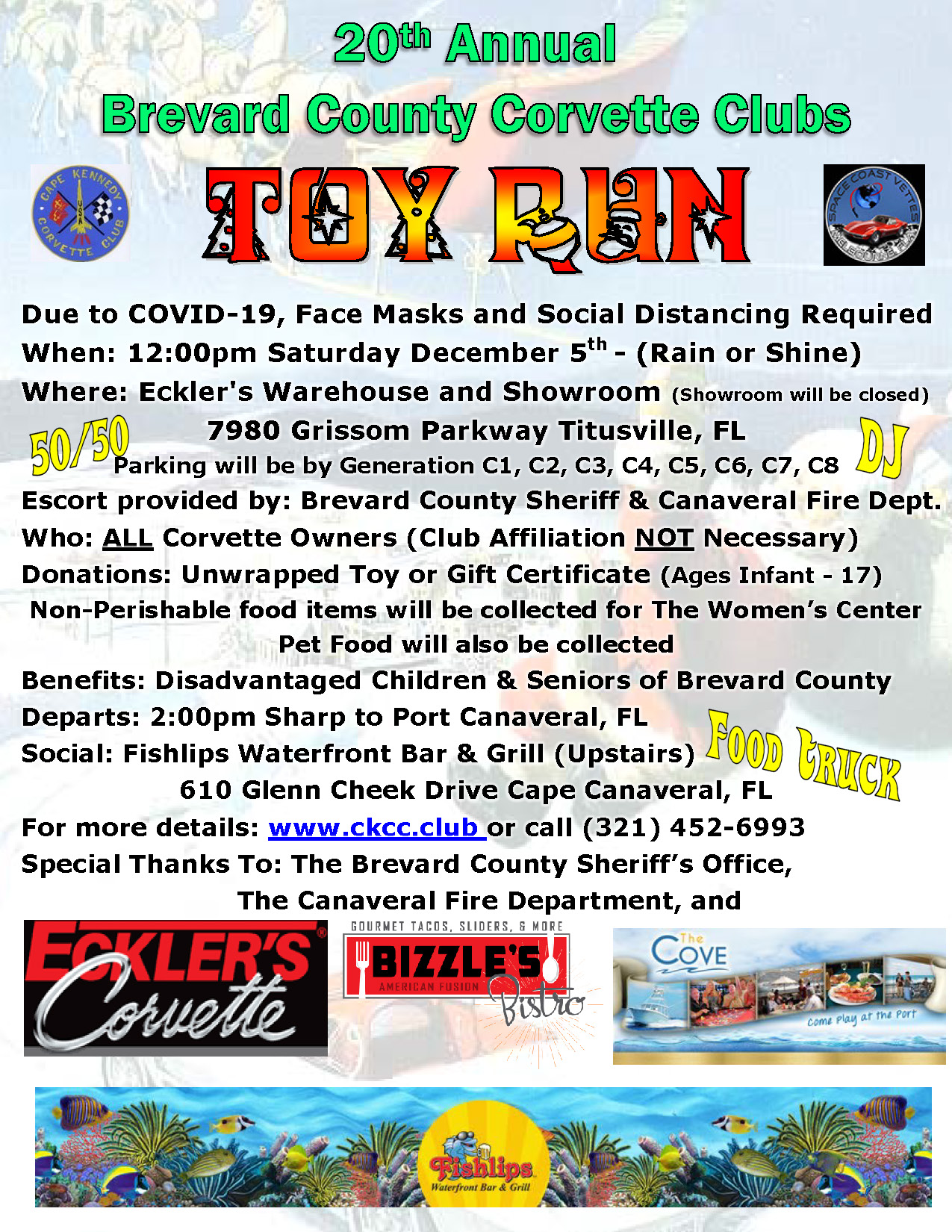 Toy Run Flyer 2018