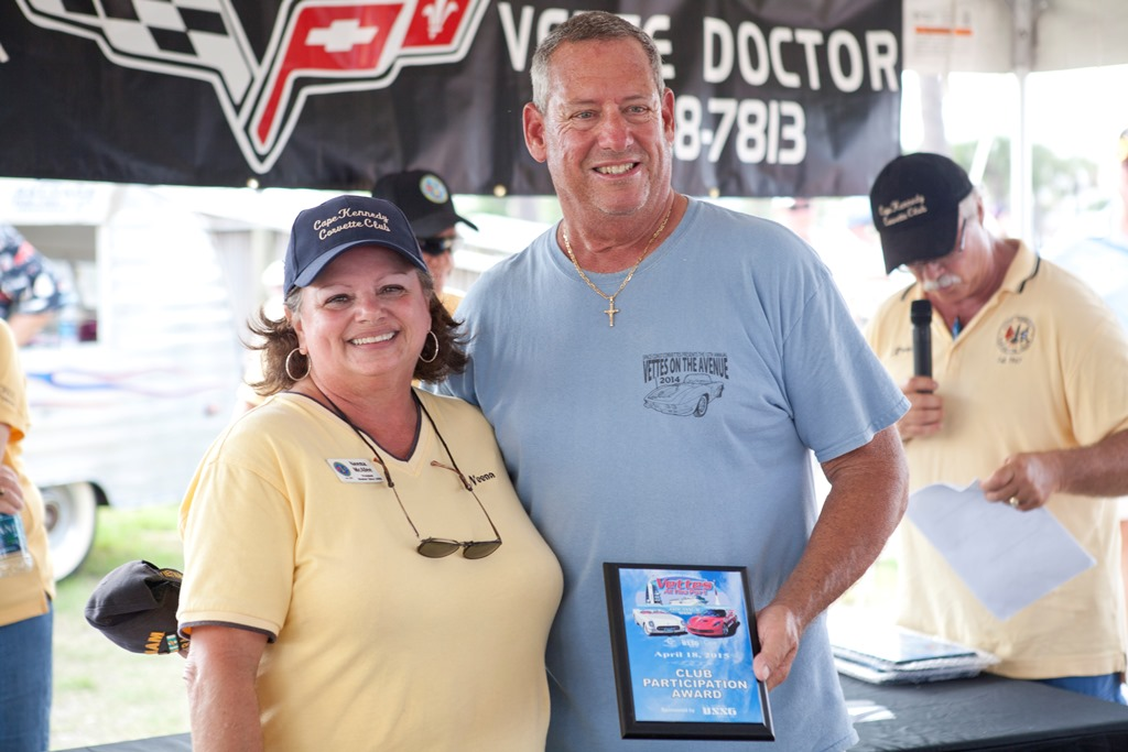 Club Participation Award Won By Space Coast Vettes