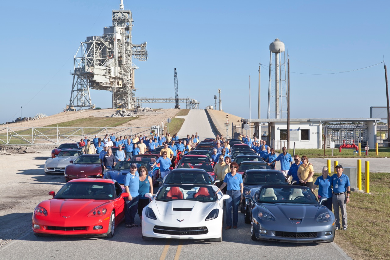 2014 Members at Shuttle Launch Site