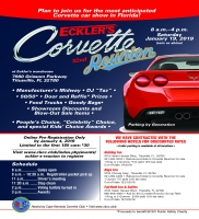 Eckler's 32nd Corvette Reunion January 19, 2019